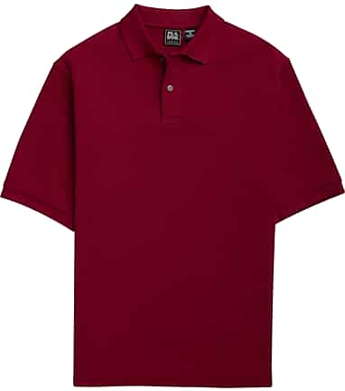 549ae506445 Traveler Collection Traditional Fit Short-Sleeve Pique Polo Shirt #6ELH