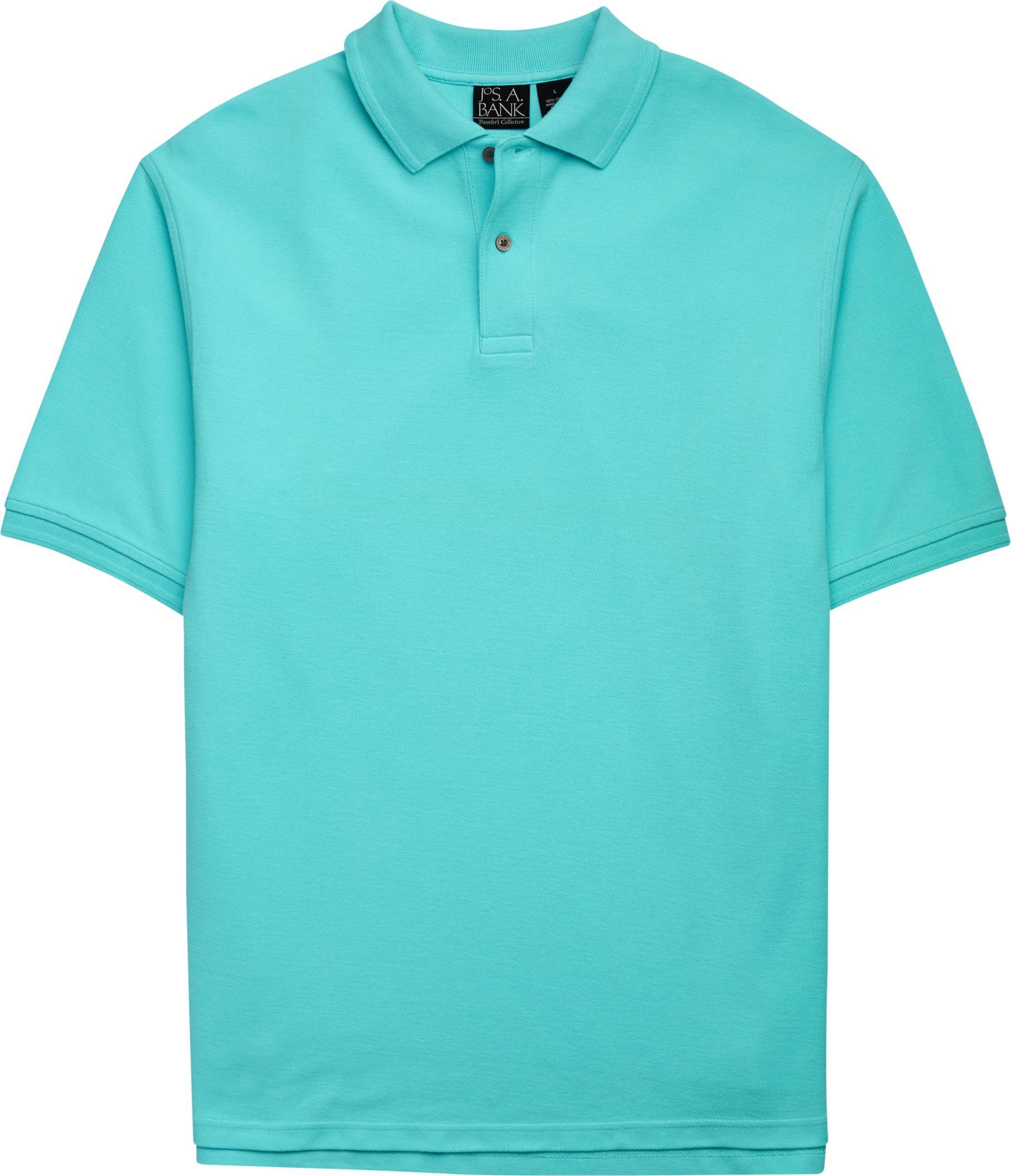 0c110e1c Traveler Collection Short-Sleeve Pique Polo
