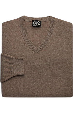 Men's Clearance, Traveler Collection Cashmere V-Neck Sweater CLEARANCE - Jos A Bank