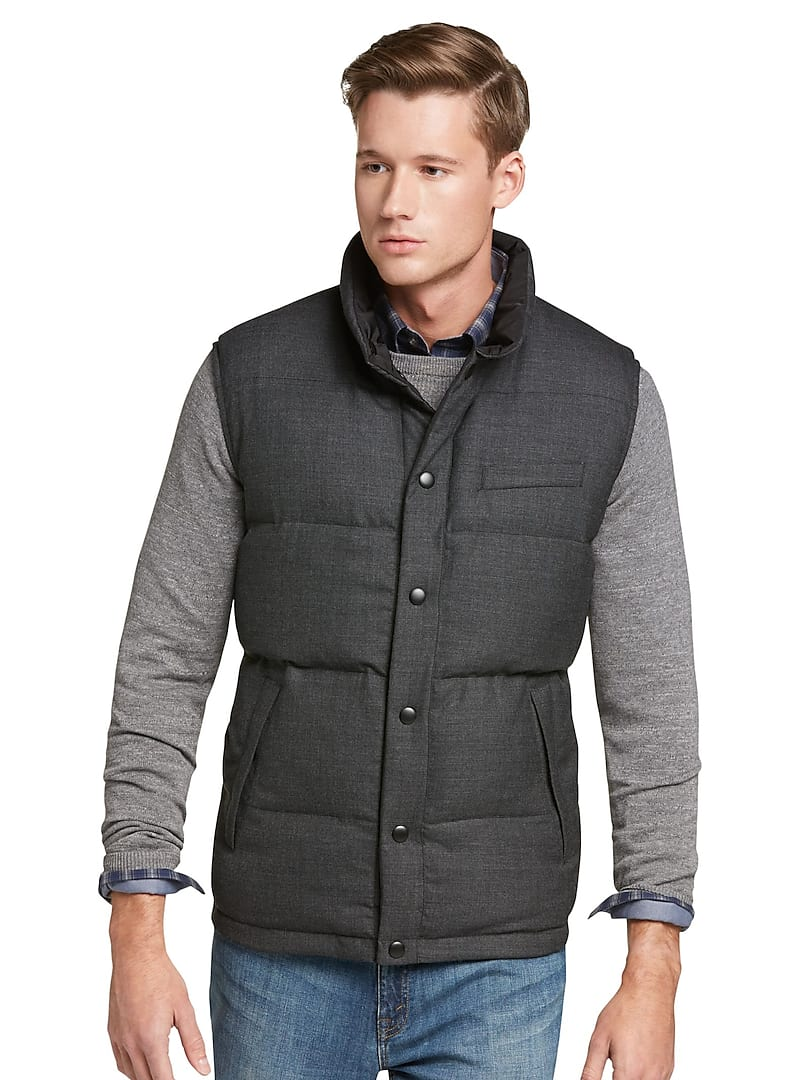 Jos. A. Bank Tailored Fit Reversible Quilted Vest