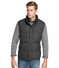 38ceb4d2c Jos. A. Bank Tailored Fit Reversible Quilted Vest CLEARANCE