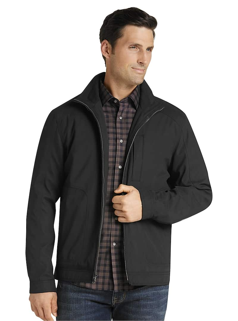 Jos. A. Bank Traditional Fit Microfiber Quilted Jacket
