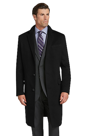 Men's Sale, Reserve Collection Tailored Fit Cashmere Topcoat - Jos A Bank