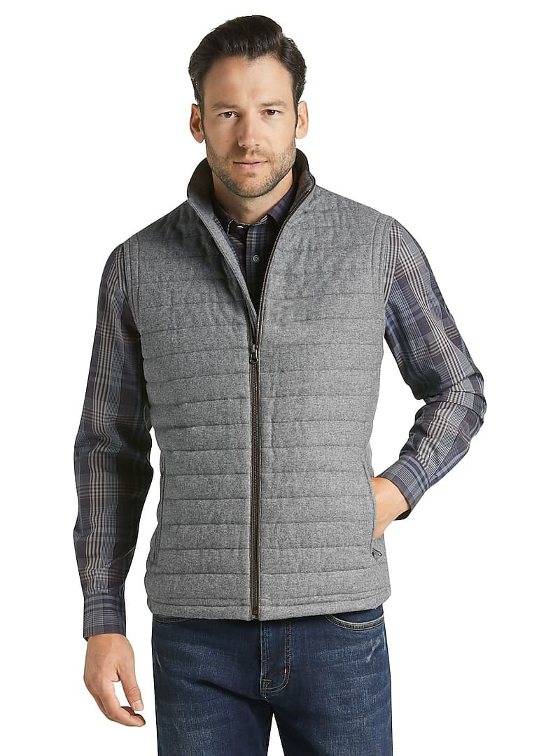 Reserve Collection Tailored Fit Quilted Vest