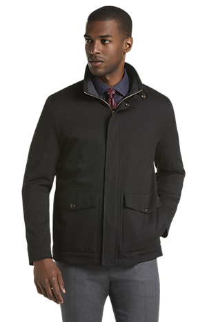 Men's FLYOUT_CATEGORY, 1905 Collection Traditional Fit Hawthorne Twill Field Jacket - Big & Tall - Jos A Bank