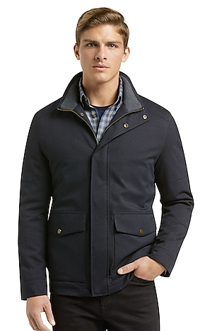 Men's Special Categories, 1905 Collection Traditional Fit Hawthorne Twill Field Jacket - Jos A Bank