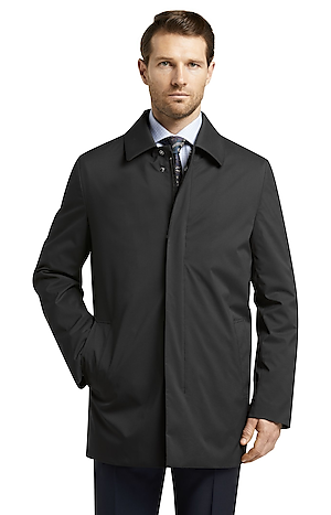 Men's FLYOUT_CATEGORY, Traveler Collection Tailored Fit Raincoat - Big & Tall - Jos A Bank