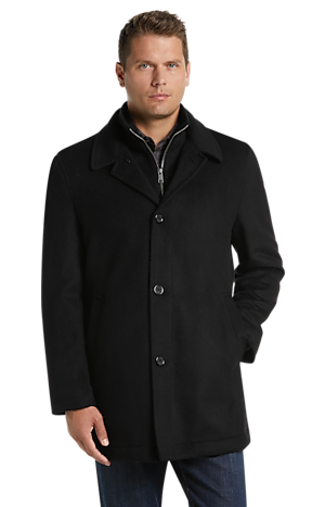 Men's FLYOUT_CATEGORY, Reserve Collection Traditional Fit Car Coat- Big & Tall - Jos A Bank