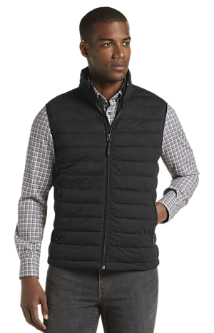 Men's Special Categories, Traveler Collection Tailored Fit Quilted Vest CLEARANCE - Jos A Bank