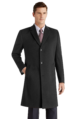 Men's FLYOUT_CATEGORY, Joseph A. Bank Tailored Fit Overcoat - Big & Tall - Jos A Bank