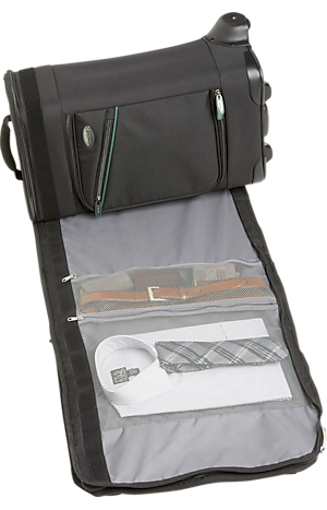 Men's Accessories, Bankroll Rolling Luggage with Garment Bag - Jos A Bank