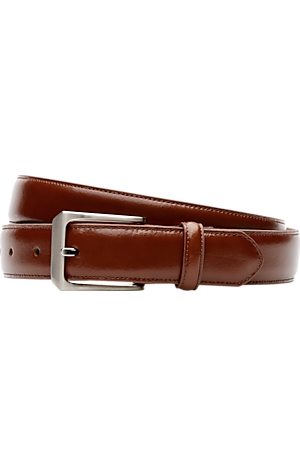 Jos. A. Bank Glazed Leather Belt