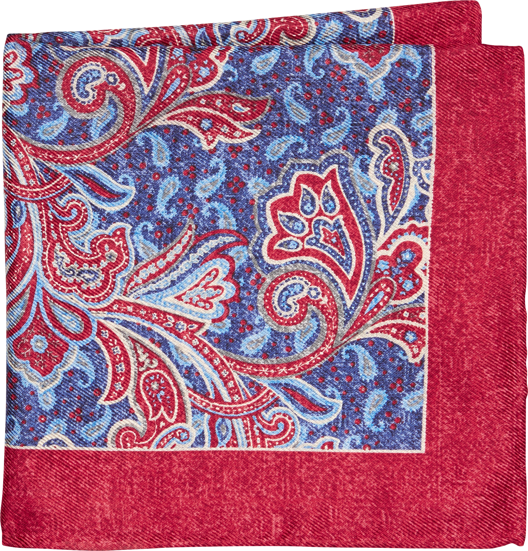 5d8702a12eb19 Joseph Abboud Paisley Pocket Square CLEARANCE - All Clearance | Jos ...