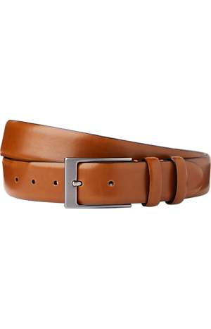 Men's FLYOUT_CATEGORY, Jos. A. Bank Smooth Leather Belt - Long - Jos A Bank