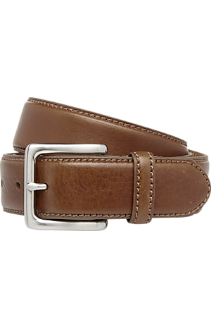 Men's FLYOUT_CATEGORY, Jos. A. Bank Leather Dress Belt - Long - Jos A Bank