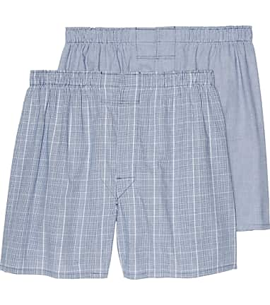 41632a147ae5 Jos. A. Bank Plaid Woven Boxers, 2-Pack - All Accessories | Jos A Bank