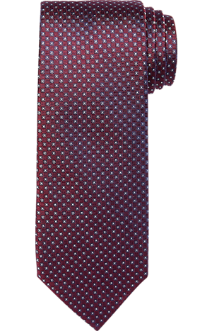 Men's FLYOUT_CATEGORY, Reserve Collection Micro Check Tie - Long - Jos A Bank