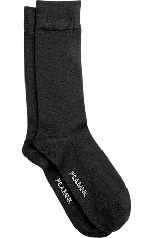 Men's Accessories, Cashmere Blend Mid-Calf Socks, One-Pair - Jos A Bank