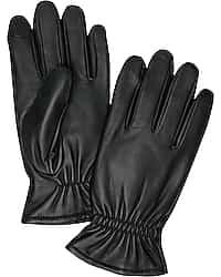 Jos. A. Bank Sheepskin Gloves (Black)