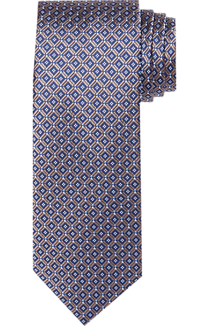 Men's Clearance, Traveler Collection Check Tie - Long CLEARANCE - Jos A Bank