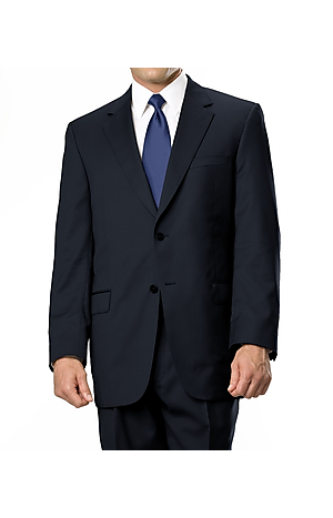Men's FLYOUT_COLLECTION, Signature Gold Collection Traditional Fit Wool Suit with Pleated Front Pants - Big & Tall - Jos A Bank