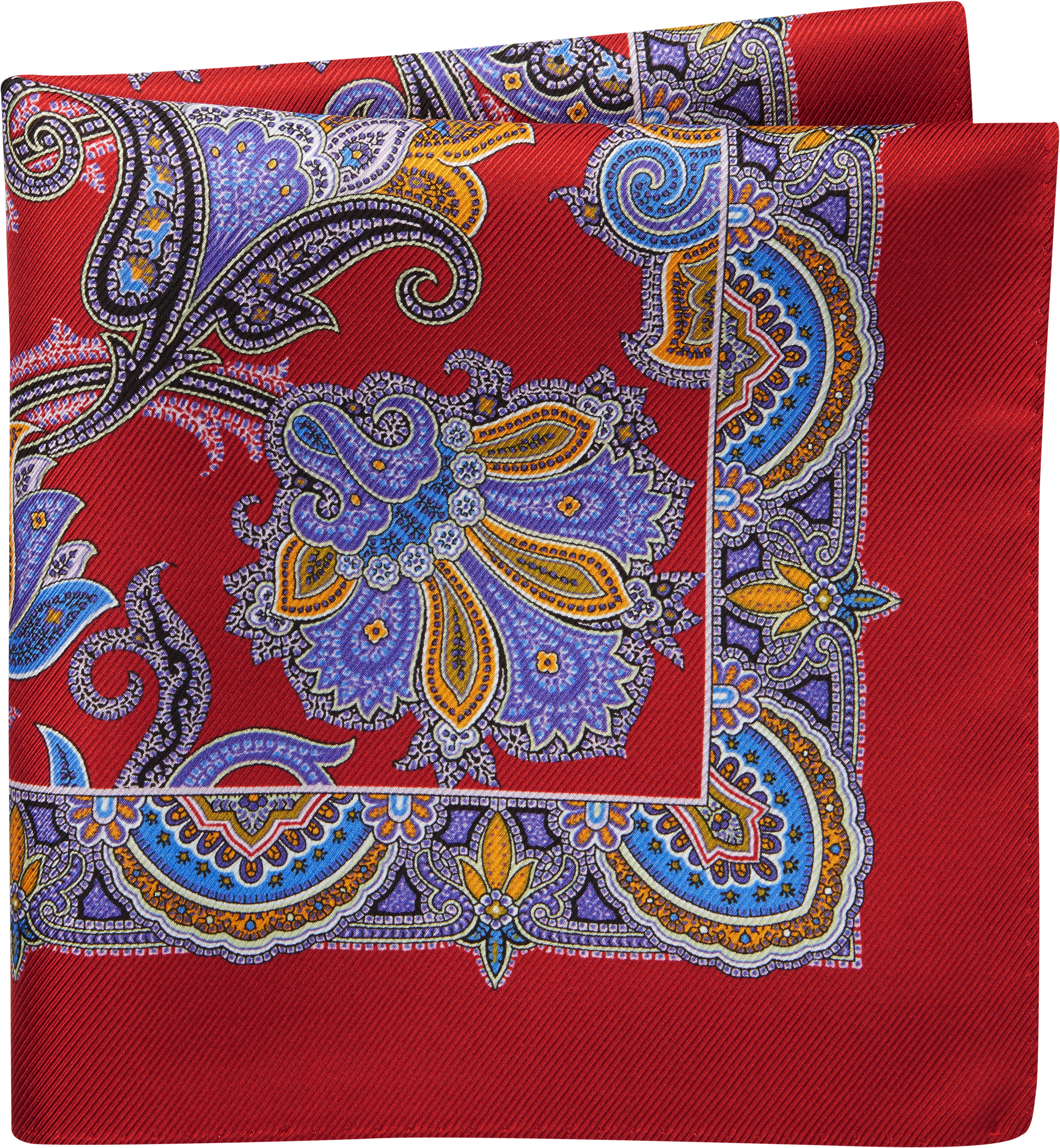 1888f80eed258 Jos. A. Bank Paisley Pocket Square CLEARANCE - All Clearance | Jos A ...