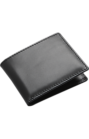 Joseph A. Bank Leather Bi-Fold Wallet