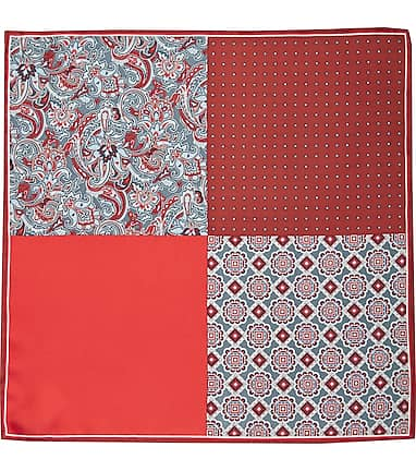 64716543cf129 Jos. A. Bank Multi-Pattern Pocket Square CLEARANCE - All Clearance ...