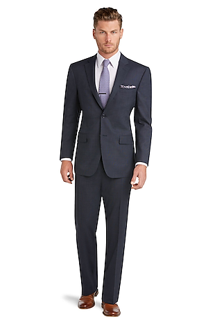 Men's Clearance, Executive Collection Traditional Fit Suit with Pleated Front Pants CLEARANCE - Jos A Bank