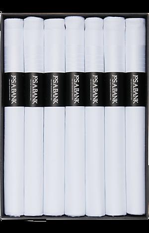 Men's Accessories, Jos. A. Bank Cigar Roll Boxed Handkerchiefs, Seven Count - Jos A Bank