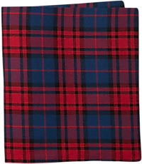 Image of Jos. A. Bank Pre-Folded Plaid Pocket Square CLEARANCE