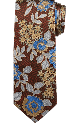 Men's Clearance, Jos. A. Bank Floral Tie CLEARANCE - Jos A Bank