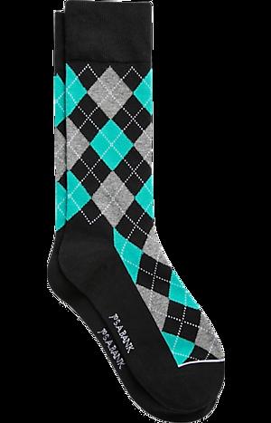 Men's Clearance, Jos. A. Bank Argyle Mid-Calf Socks, One-Pair CLEARANCE - Jos A Bank