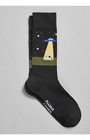 Men's Gifts for Dad, Jos. A. Bank UFO Mid-Calf Socks, One-Pair - Jos A Bank