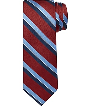 Traveler Collection Stripe Long Tie