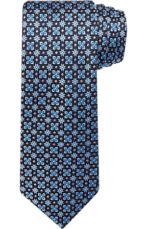Men's Clearance, Reserve Collection Floret Grid Tie CLEARANCE - Jos A Bank
