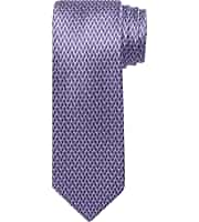 Reserve Collection Prism Pattern Tie (Purple)