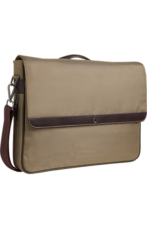 Men's Clearance, Jos. A. Bank Nylon & Leather Briefcase CLEARANCE - Jos A Bank
