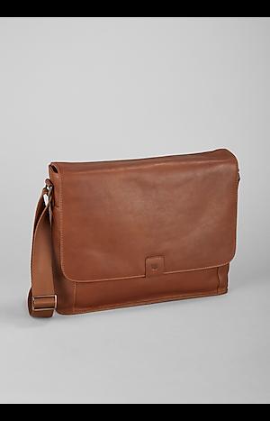 Men's Accessories, Jos. A. Bank Leather Briefcase Bag - Jos A Bank