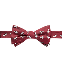 1905 Collection Cow Pattern Pre-Tied Bow Tie