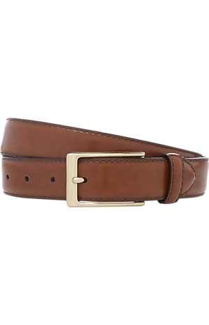 Jos. A. Bank Polished Leather Belt