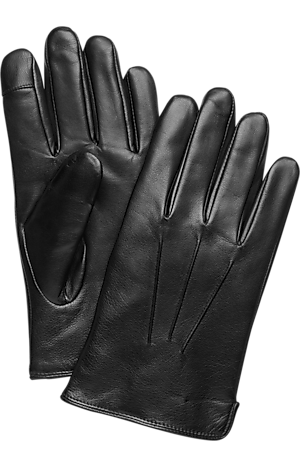 Men's Accessories, Jos. A. Bank Leather Tech Touch Gloves - Jos A Bank