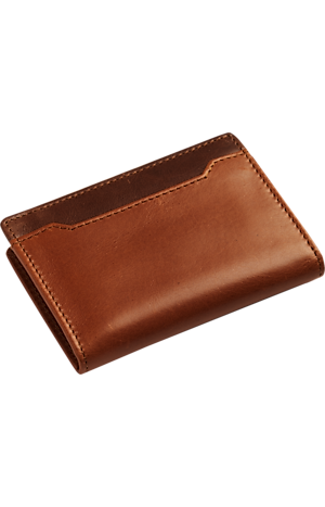 Men's Accessories, Jos. A. Bank Leather L-Fold Wallet - Jos A Bank