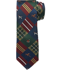1905 Collection Country Lodge Patchwork Tie