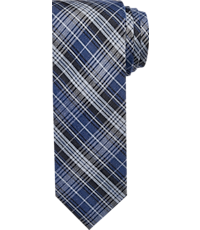 1905 Collection Classic Plaid Tie - Long