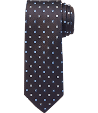 Image of Traveler Collection Mini Squares Tie - Long