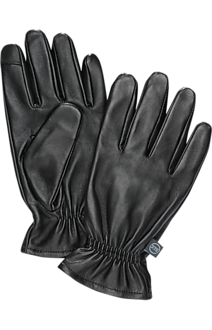 Men's Accessories, Travel Tech Leather Touch Point Gloves CLEARANCE - Jos A Bank