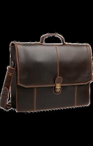 Men's Accessories, Jos. A. Bank Leather Briefcase - Jos A Bank