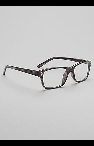 Men's Accessories, Jos. A. Bank Contrast Rectangle Reading Glasses - Jos A Bank