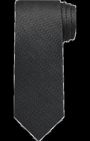 Men's Featured, Reserve Collection Herringbone Tie - Jos A Bank